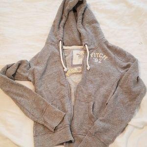 A&F Front Zip Hoodie